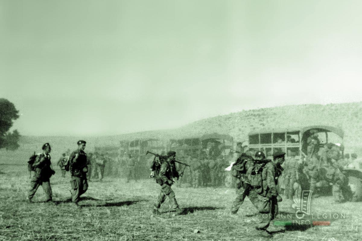1er REP - 1 REP - Foreign Legion Etrangere - Algeria -  1960