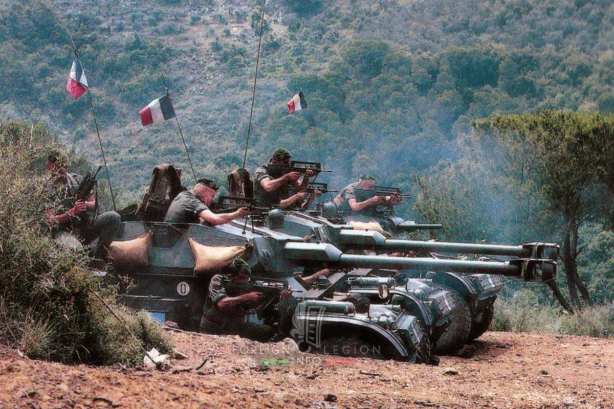 1er REC - 1 REC - Foreign Legion Etrangere - Lebanon 1983 - AML