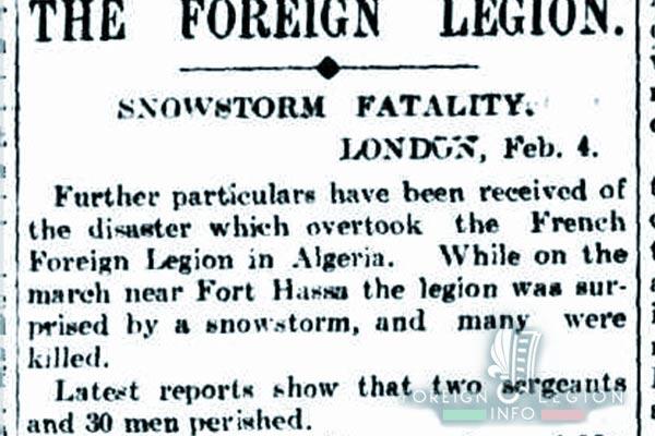 Forthassa Gharbia - Algeria - Disaster 1908