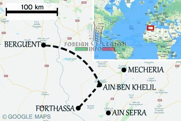 Berguent - Maroc - Forthassa - Algerie - Tragédie de 1908
