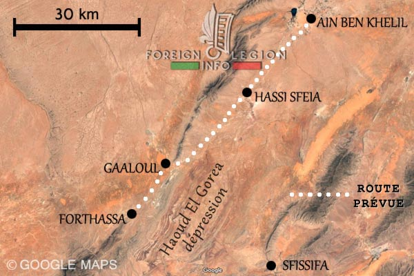 Ain Ben Khelil - Forthassa - Algerie - Tragédie de 1908