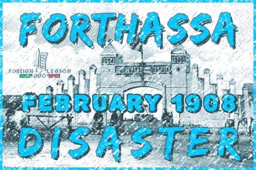 1908 Forthassa Disaster - Foreign Legion etrangere - Forthassa - Algeria - 1908
