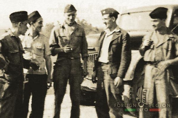 38e CCB - 38 CCB - Dump Truck Company - Legionnaires - Hanoi - Indochina - 1950
