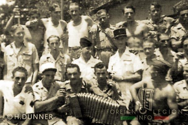 Foreign Legion - Legion Engineer Training & Services Company - CISGL - Saigon - Indochina - 1949