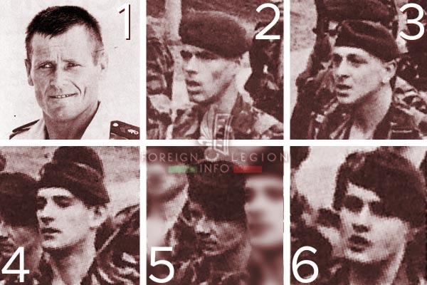2e REI - 2 REI - Foreign Legion etrangere - Djibouti - TFAI - GOLE - 1976 - Victims - Killed Legionnaires