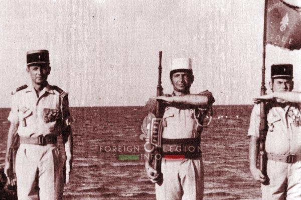 2e REI - 2 REI - Foreign Legion etrangere - Djibouti - TFAI - GOLE - Fanion - Guignon - 1976