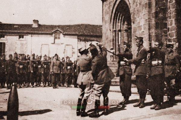 GRDI 97 - GRD 97 - Foreign Legion - 1940 - France - Fanion