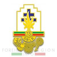 13e DBLE insignia