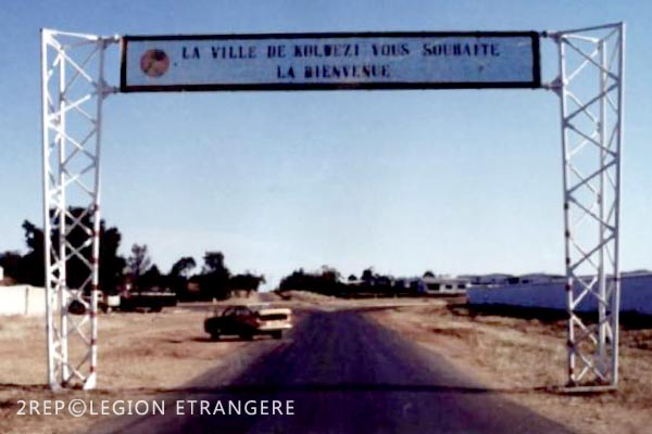 2 REP - Battle of Kolwezi - 1978 - Kolwezi - Entrance