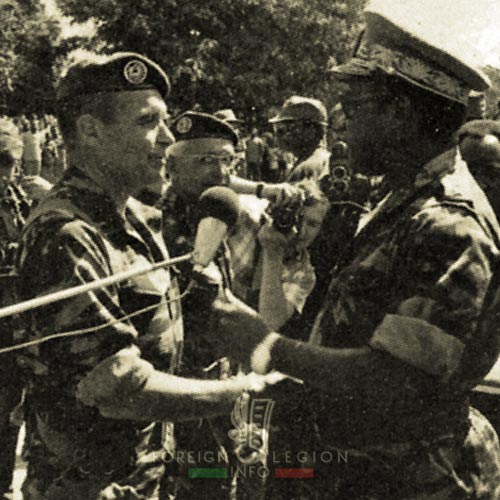 2 REP - Battle of Kolwezi - 1978 - Erulin - Mobutu
