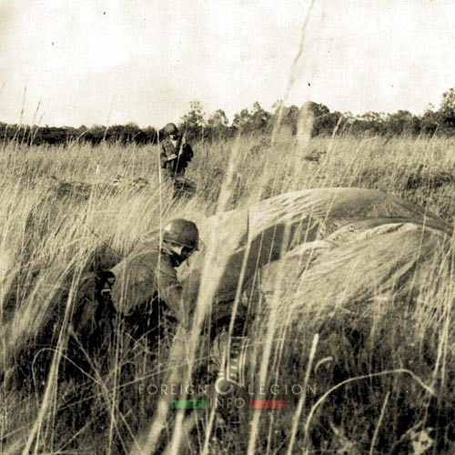 2 REP - Battle of Kolwezi - 1978 - Kolwezi - 4th Company - Drop Zone Bravo