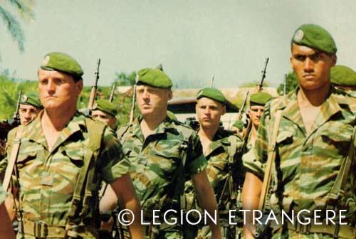 2 REP - Parade - Kolwezi 1978