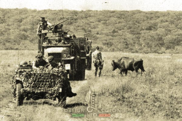 2 REP - Battle of Kolwezi - 1978 - Kolwezi - Patrolling