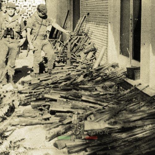 2 REP - Battle of Kolwezi - 1978 - Kolwezi - Captured Weapons