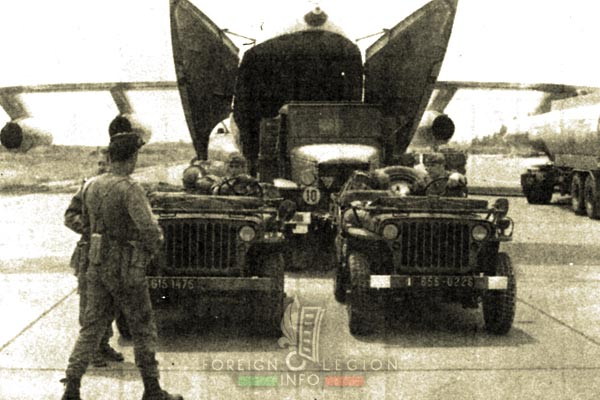 2 REP - Battle of Kolwezi - 1978 - Zaire - Vehicles