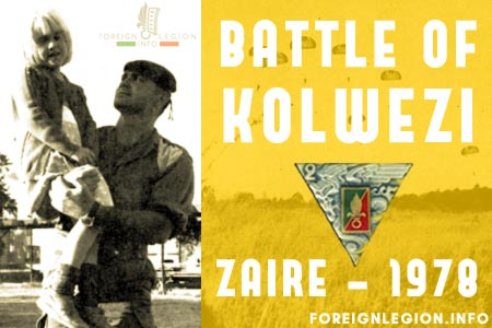 2e REP - 2 REP - 1978 Battle of Kolwezi - A successful rescue operation in Kolwezi - Zaire