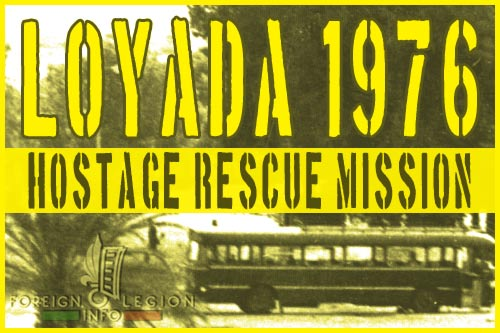 1976 Loyada Rescue Mission - 2e REP - 13e DBLE - Djibouti