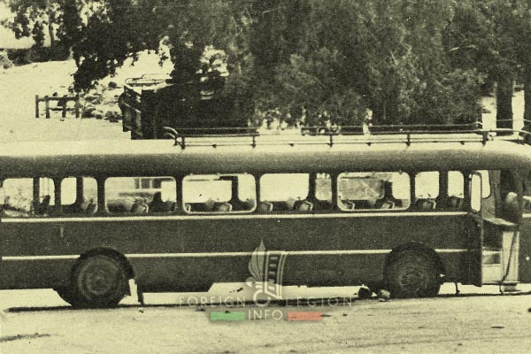 2e REP - TFAI - Djibouti - 1976 Loyada Hostage Rescue Mission - bus