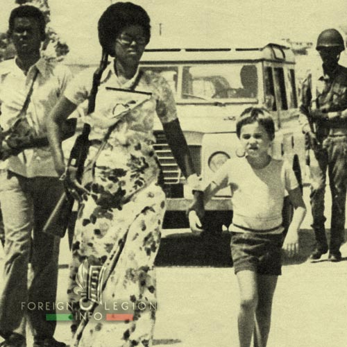 Loyada Rescue Mission - Somalia - Mogadishu - 1976 - Frank Rutkowski