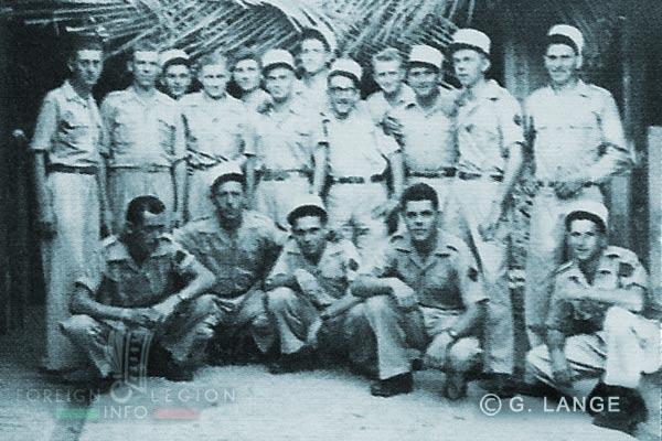 2e CMRLE - 2 CMRLE - Repair Company - 1951 - Corporals - Indochina