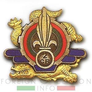 2e CRLE - 2 CRLE - 2e CMRLE - 2 CMRLE - Repair Company - 1949 - Insignia - Badge - Indochina