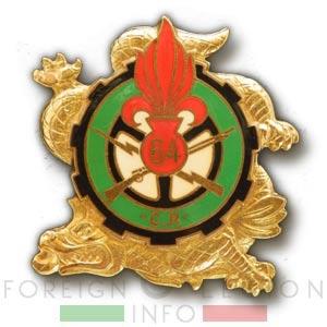 64e CRALE - 64 CRALE - Repair Company - 1948 - Insignia - Badge - Indochina