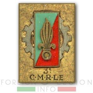 3e CMRLE - 3 CMRLE - Repair Company - 1952 - Insignia - Badge - Indochina