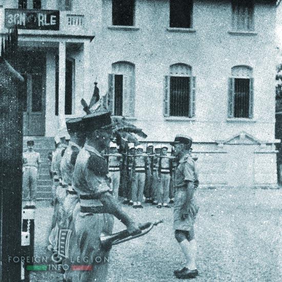 3e CMRLE - 3 CMRLE - Repair Company - 1953 - Hai Phong - HQ - Indochina
