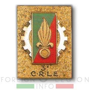 3e CRLE - 3 CRLE - Repair Company - 1949 - Insignia - Badge - Indochina