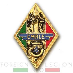4e CMRLE - 4 CMRLE - Repair Company - 1951 - Insignia - Badge - Indochina