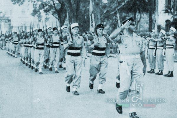 4e CMRLE - 4 CMRLE - Repair Company - 1952 - Hanoi - Lieutenant Mermoz