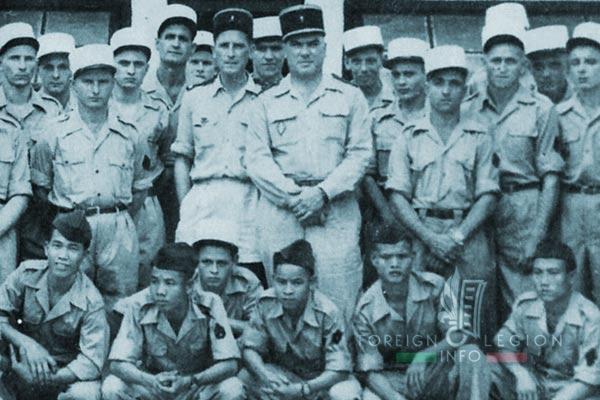4e CMRLE - 4 CMRLE - Repair Company - 1953 - Gia Lam - Captain Maurin