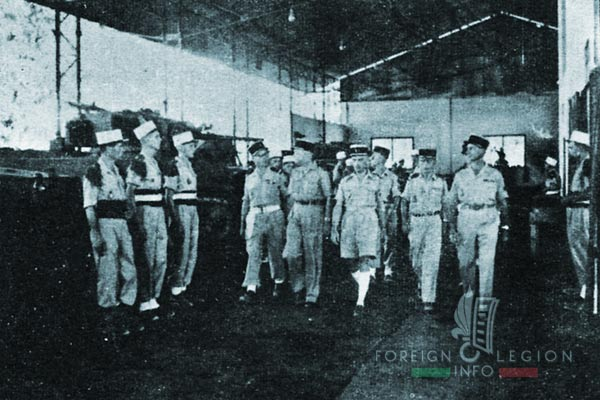 4e CMRLE - 4 CMRLE - Repair Company - 1954 - Kien An - Colonel Gardy - Indochina