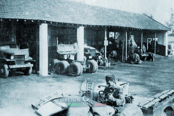 CMRLE - Medium Repair Company - 1950s - Indochina