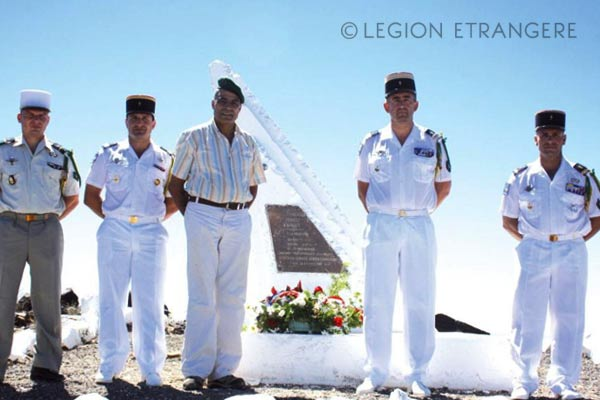 Foreign Legion Etrangere - Mont Garbi - Djibouti - 2015