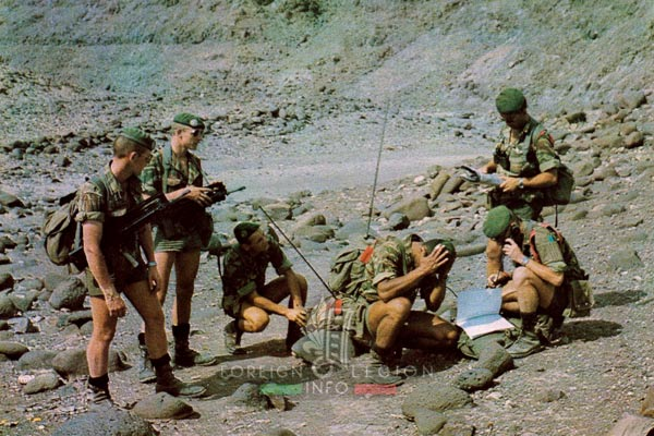 2e REP - 2 REP - Foreign Legion Etrangere - Djibouti - 1981