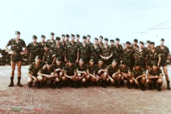 2e REP - 2 REP - Foreign Legion - 4th Company - Djibouti - 1982