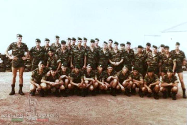 2e REP - 2 REP - Legion Etrangere - 4e Compagnie - Djibouti - 1982