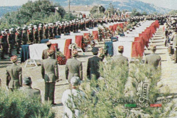 2e REP - 2 REP - Foreign Legion - Mont Garbi Accident - Calvi - Paying Homage - 1982