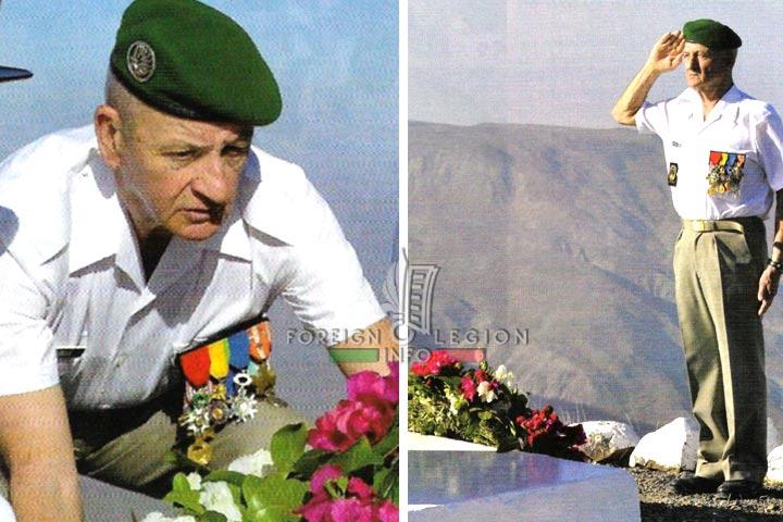 2e REP - 2 REP - Foreign Legion - Mont Garbi - Djibouti - 2010 - Adjudant-chef Fayolle