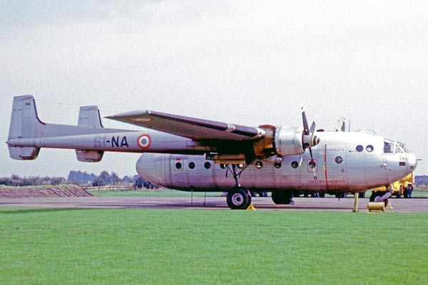 Nord 2501 Noratlas - Armee de l'Air - French Air Force - 1969