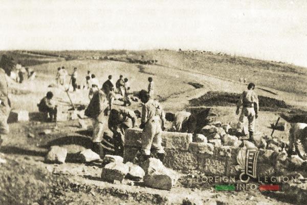 Légionnaires - Compagnie montée - Légion étrangère - Maroc - 1915