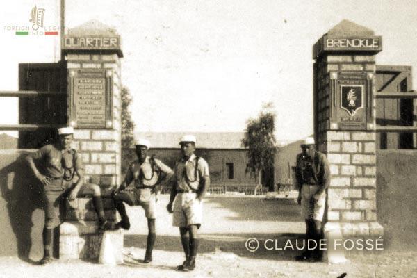 12th Compagnie mixte montée - 12 CMM - Mixed Mounted - 3rd REI - 3 REI - 1940-42 - Post - Quartier Brencklé - Foreign Legion - Morocco - Ksar Es Souk