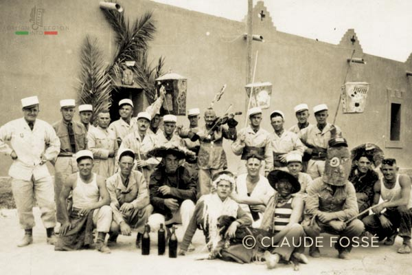 12th Compagnie mixte montée - 12 CMM - Mixed Mounted - 3rd REI - 3 REI - 1942 - Camerone - Foreign Legion - Morocco - Ksar Es Souk