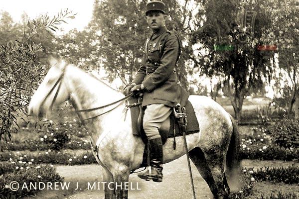 Lieutenant Gazounaud - Mounted Company 3e REI - Foreign Legion - Morocco - 1928-1930