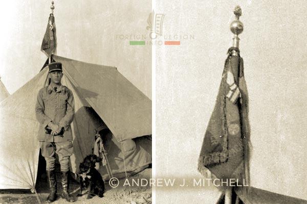 Lieutenant - 3 REI - Mounted Company 3e REI - Foreign Legion - Morocco - 1928-1940