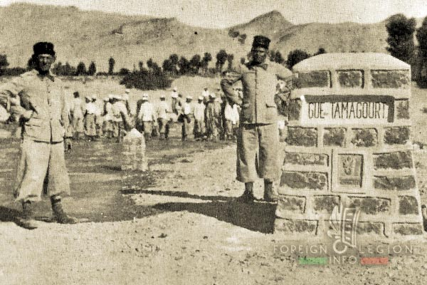 Mounted Company - 3e REI - Foreign Legion - Road construction works - Morocco - 1935