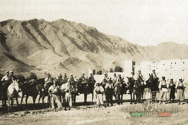 Mounted Company - 3rd REI - 3e REI - Foreign Legion - Morocco - 1939