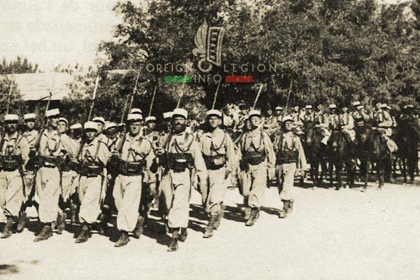 Mounted Company - 3rd REI - 3e REI - Foreign Legion - Morocco - Fez - 1940