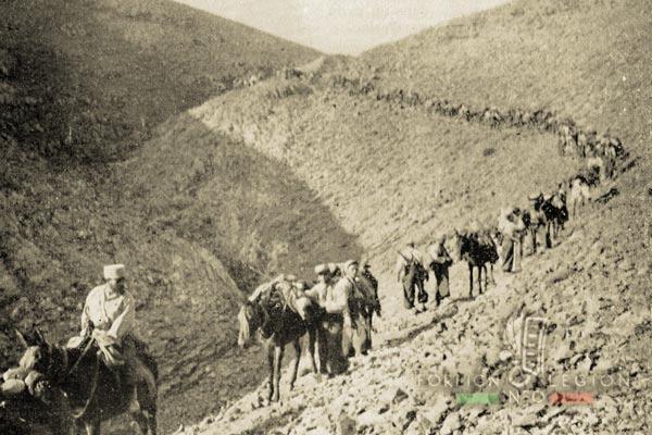 Compagnie Montée - 3e REI - Légion étrangère - Maroc - Djebel Ayachi - 1941